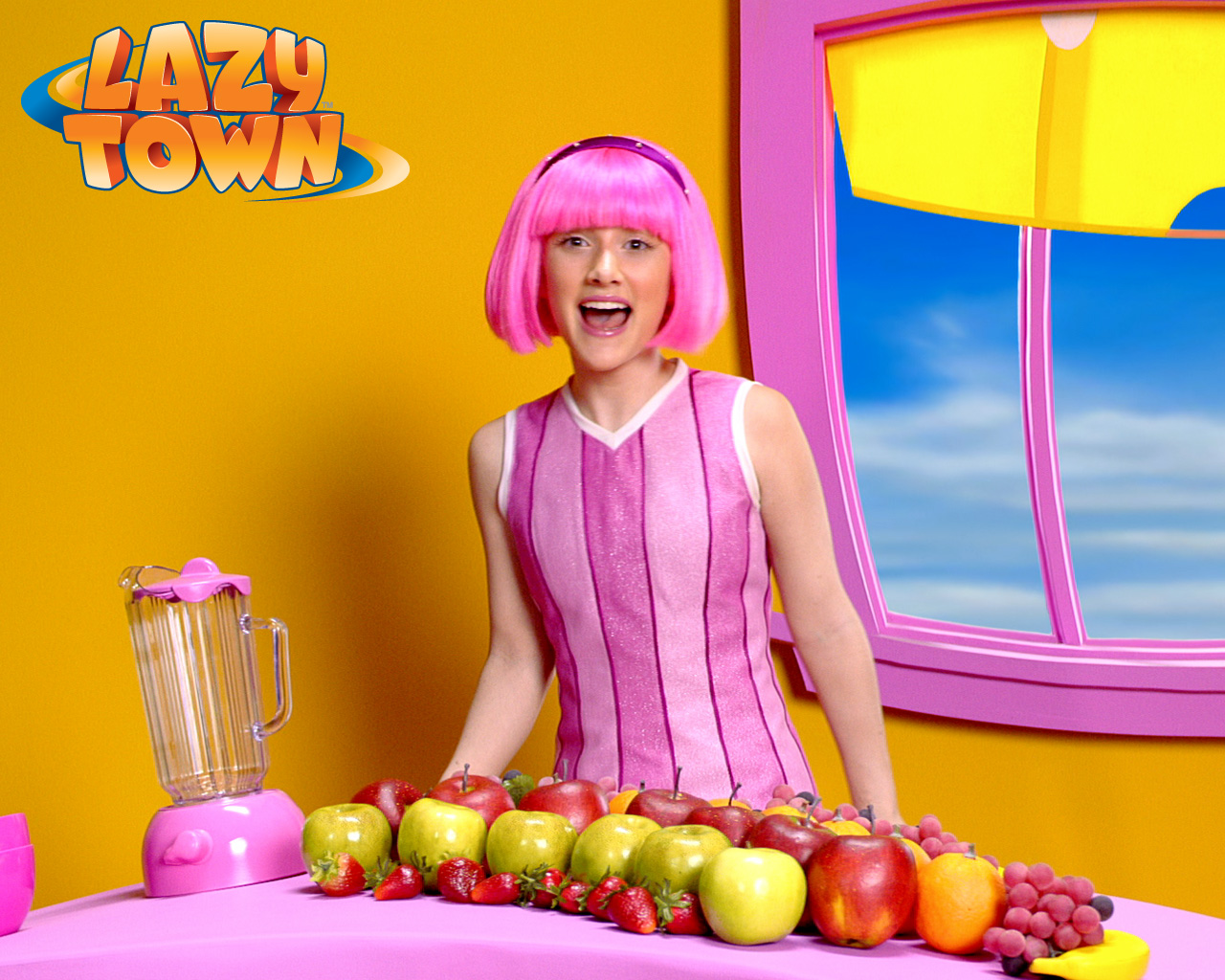 lazy town stephanie naked in the kitchen pics xxx